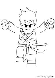 Ninjago Kai Coloring Pages