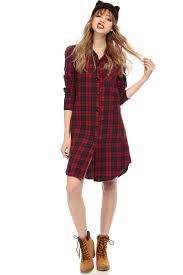 six plaid shirt dress cicihot dresses dress prom dress