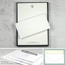 Personalised Luxury Writing Paper Sets Honeytree Personalised