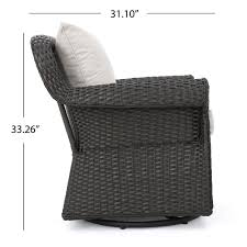 Shop Amaya Outdoor Wicker Swivel Rocking Chair With Cushion (Set Of ... Hampton Bay Spring Haven Brown Allweather Wicker Outdoor Patio Noble House Amaya Dark Swivel Lounge Chair With Outsunny Rattan Rocking Recliner Tortuga Portside Plantation Wickercom Wilson Fisher Resin Recling Ideas Fniture Unique Clearance 1103design Chairs S Rocker High Indoor Lounger Alcott Hill Yara Cushions In 2019 Longboat Key At Home Buy Cheap Online Sale Aus