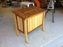 Teak And Cypress Outdoor Storage Chest