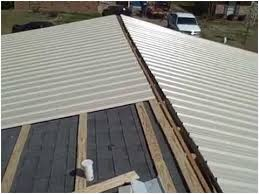 Metal Roof Over Shingles Mobile Home  Modern Looks Metal Roofing