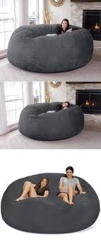 Amazing Bean Bag Bed With Built In Blanket And Pillow Jumbo Chair 48
