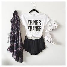 T Shirt Change White Letters Quote On It Tumblr Hipster Grunge American Style