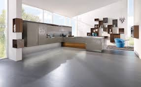 meuble suspendu cuisine cuisine cuisine design gris beige en céramique cuisine avec