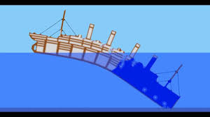 sinking ship simulator an ocean liner is sinking lusitania style