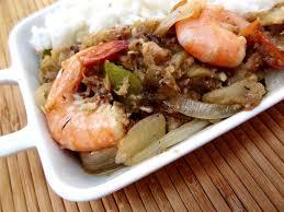 recette cuisine poisson recette gabonaise des aubergines au poisson et crevettes