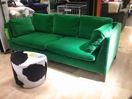 Astounding Ikea Green Velvet Couch 46 About Remodel Home Design Ideas With