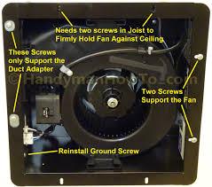 Panasonic Ceiling Fan 56 Inch by Panasonic Whisperfit Ez Fan Old Work Ceiling Mount And Junction