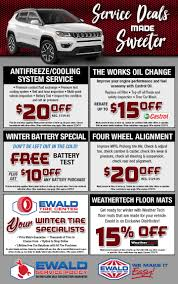 Service & Parts Coupons | Ewald CJDR Custom Truck Accsories Reno Carson City Sacramento Folsom Buy Car And Tires Online Tirebuyercom Aftermarket Auto Parts For Sale Ford F150 Silverado 1500 Sierra Ram Lowered Street Performance Gmc By Mrr Caridcom Grill Guards Centex Tint Chevy New Used Dealer Mustang Vent Pod Snyder Eeering 4x4 Off Road California Turbo Diesel Heath
