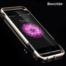 Beworlder For iphone 6S Bumper iphone 6 Case Rapier Aluminum Metal