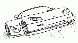 Koenigsegg CCR 2004 Sports Car Coloring Pages To Print