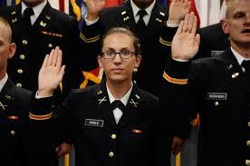 Va Guard OCS missions 17 new officers