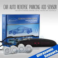 4 Parking Silver Sensors LED Backup Reverse Rear Radar System Alert ... Backup Cameras For Sale Car Reverse Camera Online Brands Prices Rvs718520 System For Nissan Frontier Rear View Safety Rogue Racing 4415099202bs F150 Revolver Bumper With Back Upforward Assist Sensors Camera Wikipedia Hitchgate Solo Wiloffroadcom Camerasbackup City Bus Dvr Ltb01 Parking Up Aid The Ford Makes Backing Up A Trailer As Easy Turning Knob Wired What Are And How Do They Work Auto Styles