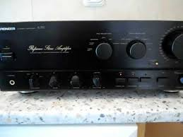 Pioneer A 757 Reference Stereo Amplifier