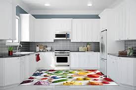 ruvitex 3d küche boden vinyl dekor pvc bodenbelag teppich
