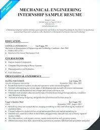 Sample Resumes For Internships College Students Internship Resume Student