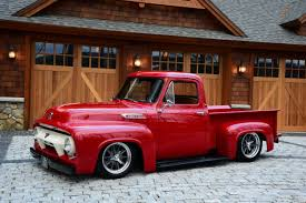 This 1954 Ford F-100 Blends Classic Looks With Performance - Hot Rod ... 1954 F100 Old School New Way Cool Modified Mustangs Ford Burnyzz American Classic Horse Power Custom Truck 72015mchmt1954fordtruckthreequarterfront Hot Rod Resto Mod F68 Monterey 2014 For Sale Classiccarscom Cc1028227 Pickup Classic Pick Up Truck From Arizona See Abes Journal Network Truck Used Sale