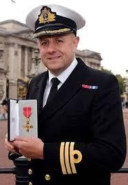 Proud David Shutts Outside Buckingham Palace