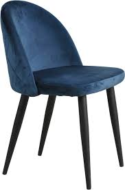 sit polsterstuhl sit chairs aus weichem samtvelours im 2er set