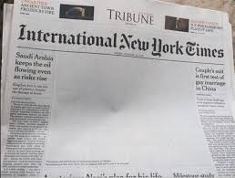 Pakistan Censors New York Times Front Page Picture Of Men Kissing