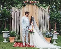 Macrame Wedding Arch Rustic Bohemian 2018 Backdrop Custom Curtain Boho Chic Beach Outdoor Party