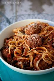 Fettuccine Meatballs A Simple Yet Rustic Dish Perfect For Cold Winter Night