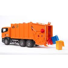 100 Orange Truck Shop Garbage Scania R By Bruder Toys Online For Toys