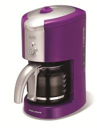 Purple Coffee Maker Kitchen