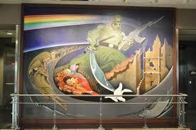 Denver International Airport Murals Painted Over by Denver International Airport Next Exit Travel