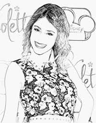 Coloring Pages Violetta Page Kids