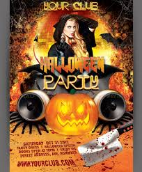 Free Halloween Flyer Templates by 20 Premium Halloween Flyer Templates Azmind