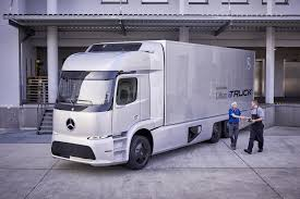 100 Mercedes Semi Truck Daimler To Build Large Electric Semi Truck Urban E Results