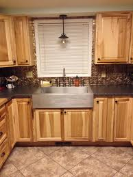 scandanavian kitchen cabinets and glass windows above