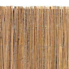 bambusmatte sichtschutzzaun sichtschutz 100 cm x 4 m bambus windschutz