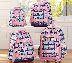 Mackenzie Navy Butterfly Backpacks