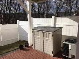 Suncast Garden Shed Taupe by Suncast Horizontal Utility Shed Walmart Com