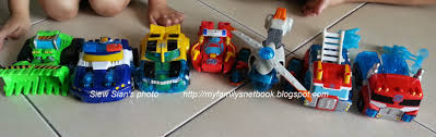 My Family's Net Book: Transformers Rescue Bots Playskool Heroes Toys