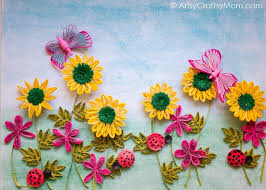 Most Interesting Paper Quilling Wall Art Designs Flower Garden