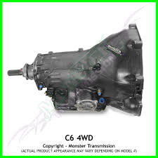 100 Ford Truck Transmissions C6 Transmission Remanufactured 4x4 Heavy Duty Performance Small Block