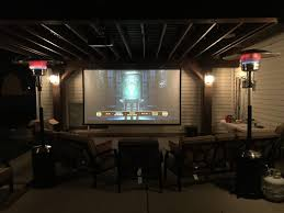 Outside Movie Projector Screen Image On Astounding Backyard ... How To Build And Hang A Projector Screen This Great Video Sent Interior Backyard Projector Screen Lawrahetcom Backyards Appealing Movie Theater Outdoor Night Free Carls Diy Projection Screens For Running With Scissors Setup Youtube Project Photo On Awesome Best On Budget 6 Steps With Pictures Systems Design Jen Joes 25 Movie Ideas Pinterest Cinema 120 169 Hdtv Indoor Portable Front