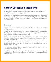 Sample Career Objectives For Resume Objective Examples Accounting Internship Equipped Likewise