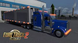 Euro Truck Simulator 2: Kenworth W900L & American Trailers - Graphic ...