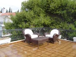 transparent terrace waterproofing study in athens greece