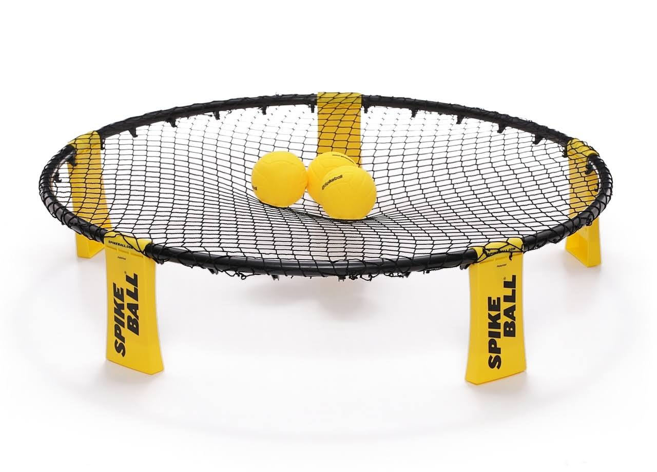 Spikeball Combo Meal - 3 Balls, Drawstring Bag, Rules