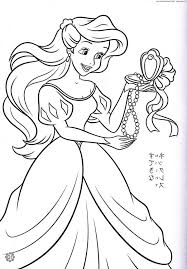 Disney Princess Christmas Coloring Pages Printable Free Frozen