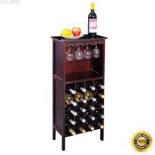 Modern Home Bar With Locked Liquor Cabinet Stainless Steel
