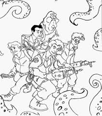 Ghostbusters Coloring Pages For Desktop