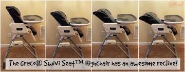 Graco High Chair Blossom Video by A Look At The Graco Swivi Seat Highchair