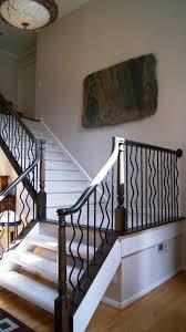 Model Staircase: Home Redesign Center Wrought Iron Doors Railings ... Wrought Iron Stair Railings Interior Lomonacos Iron Concepts Wrought Porch Railing Ideas Popular Balcony Railings Modern Best 25 Railing Ideas On Pinterest Staircase Elegant Banisters 52 In Interior For House With Replace Banister Spindles Stair Rustic Doors Double Custom Door Demejico Fencing Residential Stainless Steel Cable In Baltimore Md Urbana Def What Is A On Staircase Rod Rod Porcelain Tile Google Search Home Incredible Handrail Design 1000 Images About